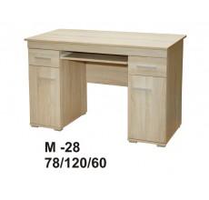 MARINO biurko M-28  dąb sonoma