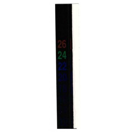 Termometr LCD ciekłokrystaliczny 12-32