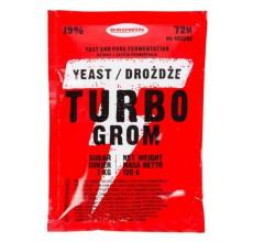 Drożdże gorzelnicze Turbo Grom 72H 120g