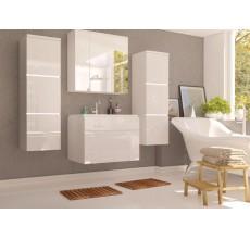 Zestaw mebli łazienkowych Porto kolor biały połysk