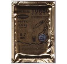 Drożdże gorzelnicze Turbo 5-7 dni  16%  95g