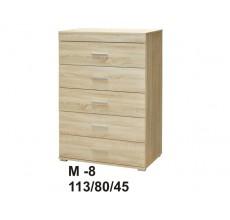MARINO Komoda 80 M-8  dąb sonoma