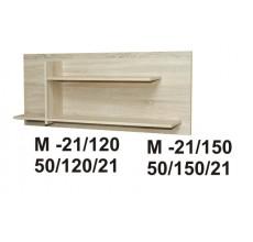 MARINO półka 120 M-21  dąb sonoma