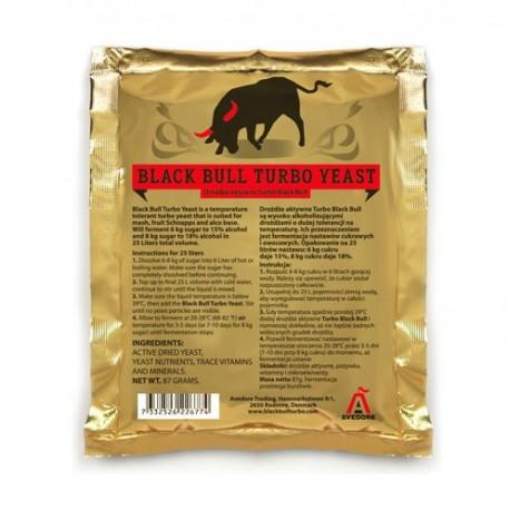Drożdże gorzelnicze Black Bull Turbo